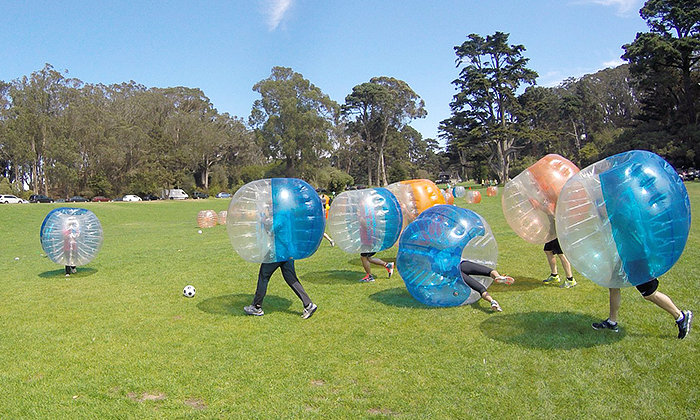 PlanetXone Bubble Soccer Party