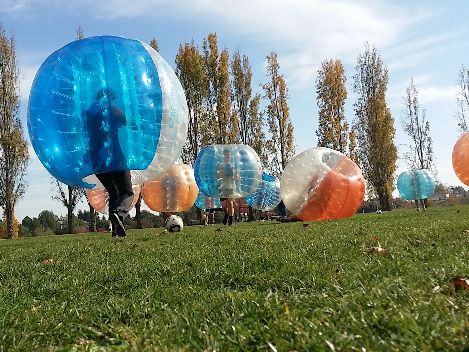 PlanetXone Bubble Soccer in Golden Gate Park