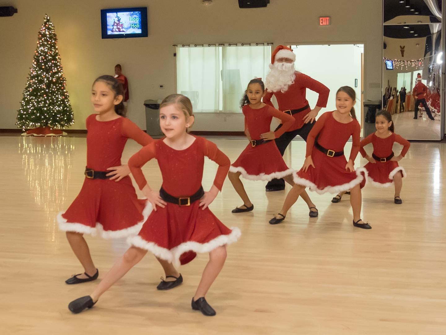 2016 Holiday Dance Showcase -  Beginner Child Ballroom class performance