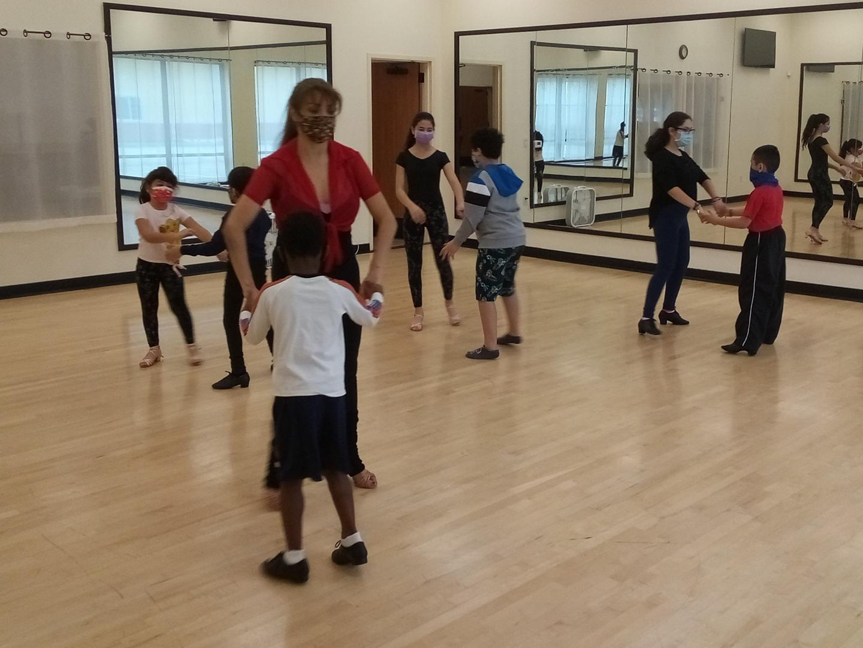 Children Ballroom and Latin dance classes